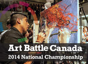 [Preview] Art Battle 2014 National Championship