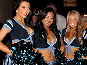[PHOTOS] Cheer Extravaganza with all 8 CFL Cheer Teams | 100th Grey Cup Festival