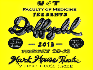 "Daffydil 2013 ""Dreaming Nights Under Hospital Lights"" 