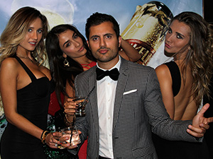 Glitz & Glamour Ball in Support of Motionball | TIFF 2013
