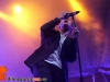 Raine Maida from Our Lady Peace singing in Toronto at Eco beach 2012