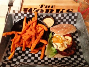 """Thunder Bichin' Burgers!"" – The Works Gourmet Burger Bistro"